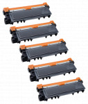 5x Toner Do Brother TN2320 TN2310 2.6k Black