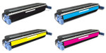 4x Toner Do HP C9730A-9733A 13/12k CMYK
