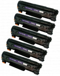 5x Toner Do HP CF283A 83A 1.6k Black