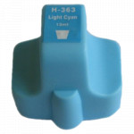 1x Tusz Do HP 363 13ml Light Cyan