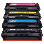 4x Toner Do HP CF410A-413A 2.3k CMYK