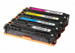 4x Toner Do HP CF380X-383A 4.4/2.7k CMYK