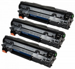 3x Toner Do HP CF283X 83X 2.2k Black