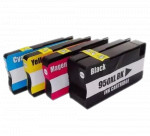 4x Tusz Do HP 950XL 951XL 75/28ml CMYK