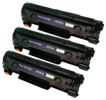 3x Toner Do HP CF283A 83A 1.6k Black