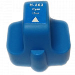1x Tusz Do HP 363 13ml Cyan