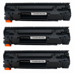3x Toner Do HP CE278A 78A 2.1k Black