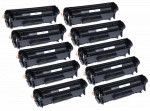 10x Toner Do HP Q2612X 12X 3k Black