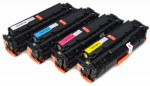 4x Toner Do HP CE410X-413A 4/2.6k CMYK