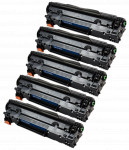 5x Toner Do HP CF283X 83X 2.2k Black