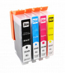 4x Tusz Do HP 364XL 23/15ml CMYK