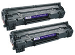 2x Toner Do HP CE285A 85A 2k Black
