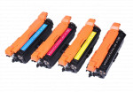 4x Toner Do HP CE250X-253A 10.5/7k CMYK