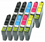 10x Tusz Do Epson T1631-1634 T01631-01634 14/10ml CMYK