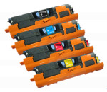 4x Toner Do HP Q3960A-3963A 5/4k CMYK