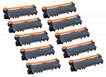10x Toner Do Brother TN2320 TN2310 2.6k Black