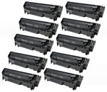 10x Toner Do HP Q2612A 12A 2k Black