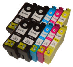 10x Tusz Do Epson T1301-1304 T01301-01304 32/18ml CMYK