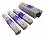 4x Toner Do Oki C510 C530 5k CMYK