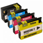 4x Tusz Do HP 932XL 933XL 32/16ml CMYK