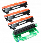 3x TONER BROTHER TN1030 TN1050 + BĘBEN DR1030 DR1050 ZAMIENNIK 1.5/10K BLACK