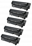 5x Toner Do HP Q2612A 12A 2k Black