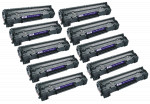 10x Toner Do HP CE285A 85A 2k Black
