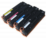 4x Toner Do HP CB540A-543A 2.3/1.5k CMYK