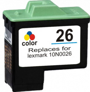 Tusz Zamiennik Lexmark 26 14ml Color