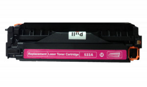 1x Toner Do HP CC533A 2.8k Magenta