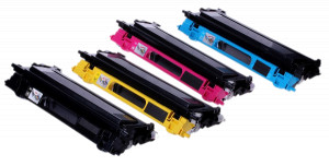 4x Toner Do Brother TN115 TN135 5/4k CMYK