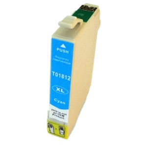 1x Tusz Do Epson T1812 T01812 10ml Cyan