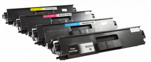 4x Toner Do Brother TN325 4/3.5k CMYK