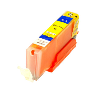 1x TUSZ CANON CLI-551 ZAMIENNIK 13ML YELLOW