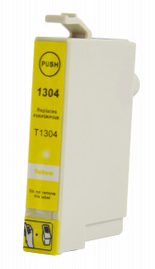1x TUSZ EPSON T1304 T01304 ZAMIENNIK 18ML YELLOW
