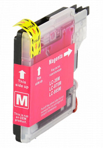 1x TUSZ BROTHER LC-985 ZAMIENNIK 12ML MAGENTA