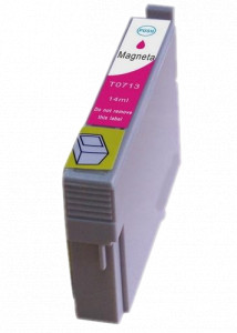 1x Tusz Do Epson T0713 T713 14ml Magenta