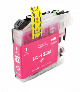 1x Tusz Do Brother LC-123 10ml Magenta