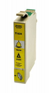 1x TUSZ EPSON T1634 T01634 ZAMIENNIK 10ML YELLOW