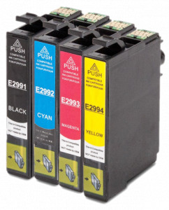 4x Tusz Do Epson T2991-2994 15ml CMYK