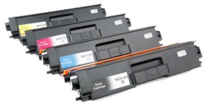 4x Toner Do Brother TN321 TN331 2.5/1.5k CMYK