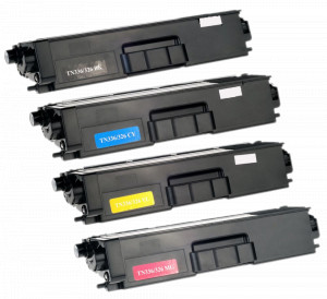 4x TONER BROTHER TN326 TN336 ZAMIENNIK 4/3.5K CMYK