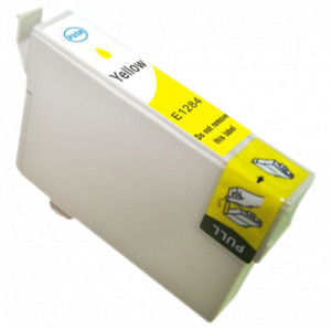 1x TUSZ EPSON T1284 T01284 ZAMIENNIK 8ML YELLOW