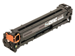 1x Toner Do HP CE320A 2k Black