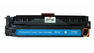 1x Toner Do HP CC531A 2.8k Cyan