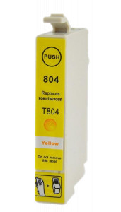 1x TUSZ EPSON T0804 T804 ZAMIENNIK 15ML YELLOW