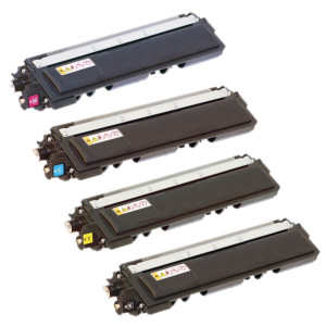 4x TONER BROTHER TN210 TN230 ZAMIENNIK 2.2/1.4K CMYK
